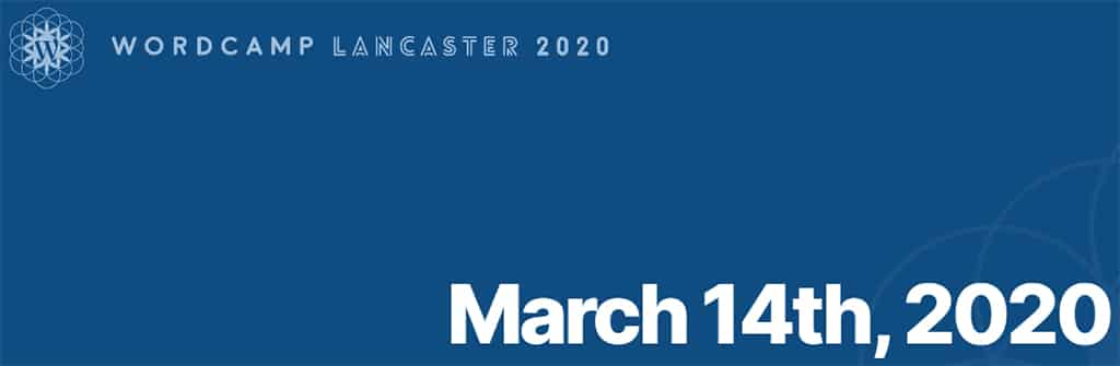 WordCamp Lancaster 2020