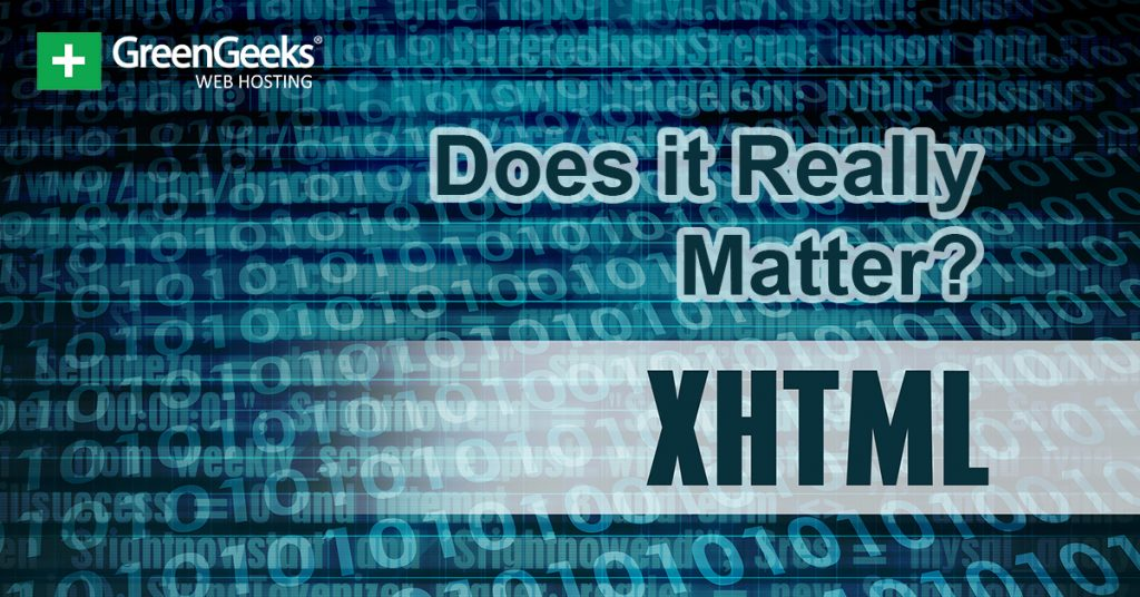 Does XHTML Matter
