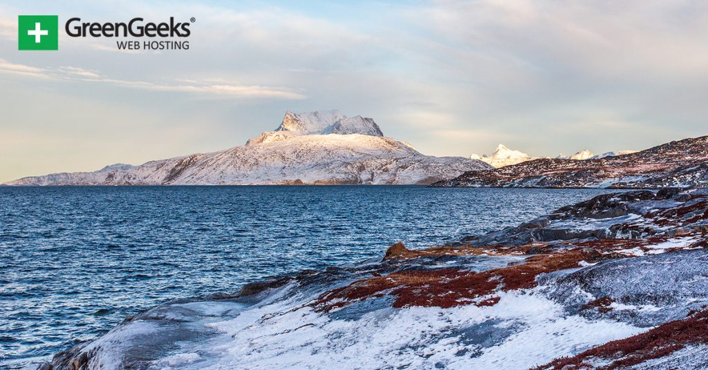 Greenland Frozen Tundra