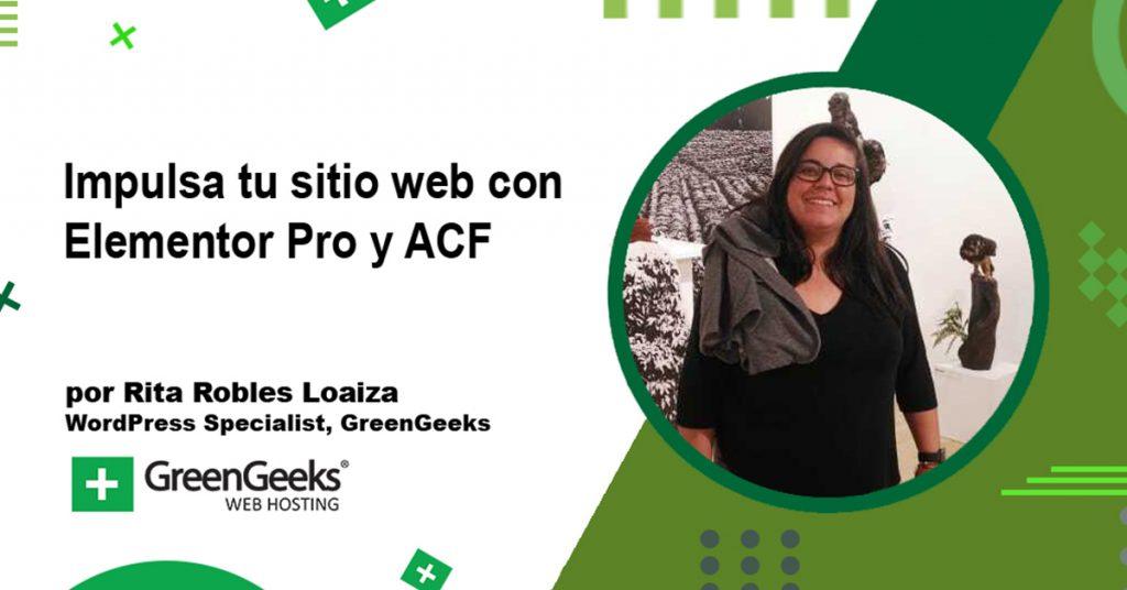 Impula tu sitio web con Elementor Pro y ACF