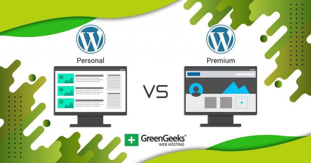 WordPress Personal vs Premium