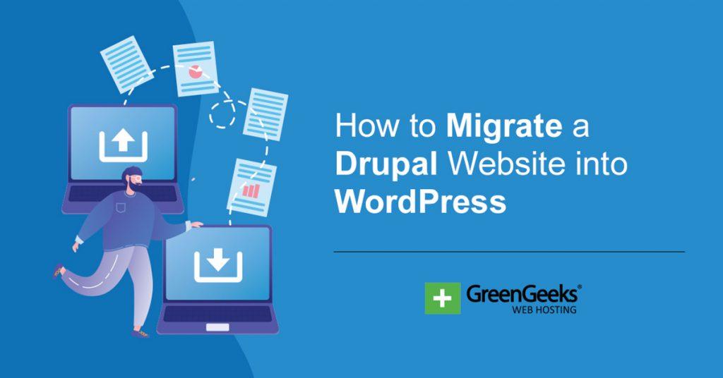 Migrate Drupal WordPress