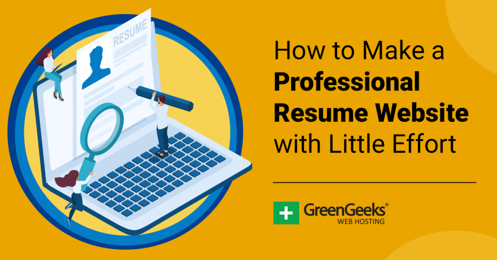 Professional Resume Website